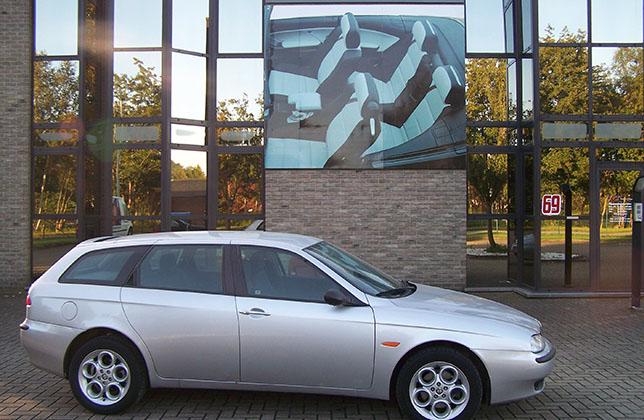 alfa romeo 156 sportwagon t t interior design. Black Bedroom Furniture Sets. Home Design Ideas