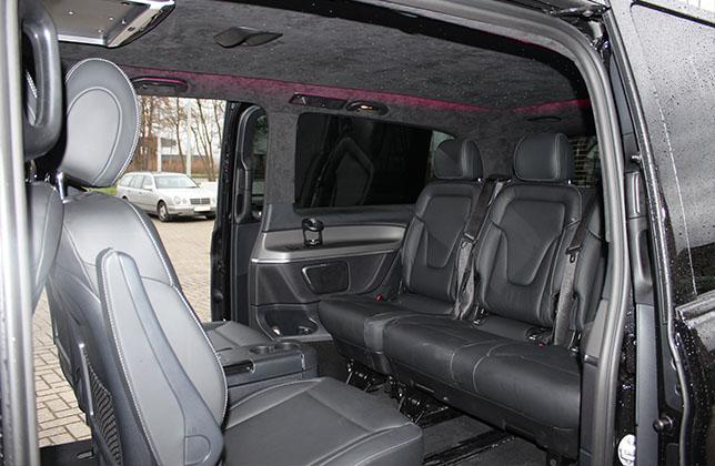 Mercedes v klasse t t interior design for Interieur v klasse